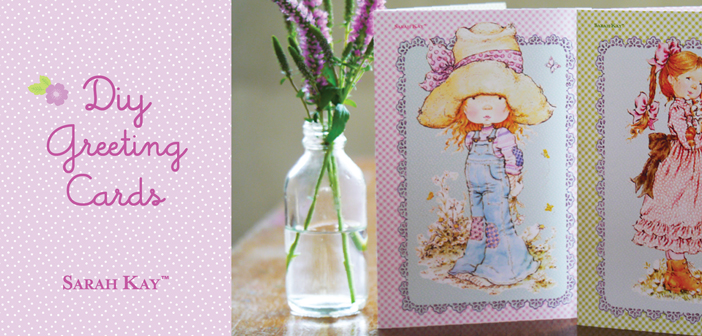 FREE Sarah Kay DIY Greeting Card